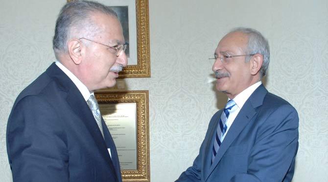 CHP Lideri İhsanoğlu'nu kabul etti