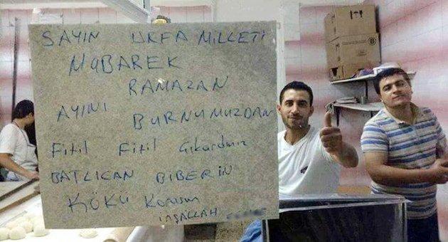 Fırıncılardan Ramazan İsyanı!