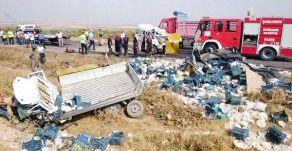 Suruç ile Birecik Arasında Kaza:2 Ölü
