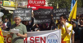 Birecik Eğitim-Sen Ankara'daki Patlamayı Kınadı