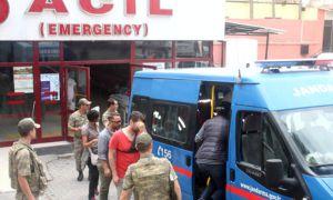 Alman ve Fas Uyruklu 6 Yabancı Kobani Sınırında Yakalandı