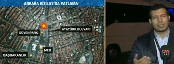 Ankara' da Hain Saldırının İlk Görüntüleri