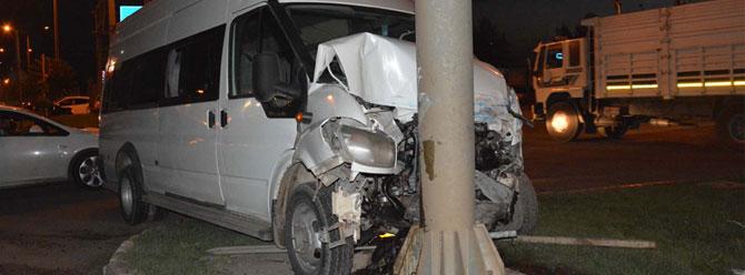 Siverek'te kaza: 5'i asker 12 yaralı