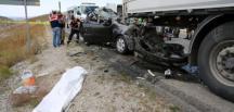 Erzincan'daki Trafik Kazasında Birecik li Aile Yok Oldu