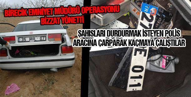 Gaziantep'ten çaldılar Birecik'te yakalandılar