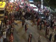 Birecik'te Binlerce Kişi Milli Birlik Yürüyüşüne Katıldı