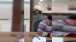 Nüfus personelinin yaşlı kadına tavrı tepki çekti