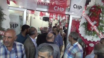 CHP Birecik seçim Bürosunu Açtı