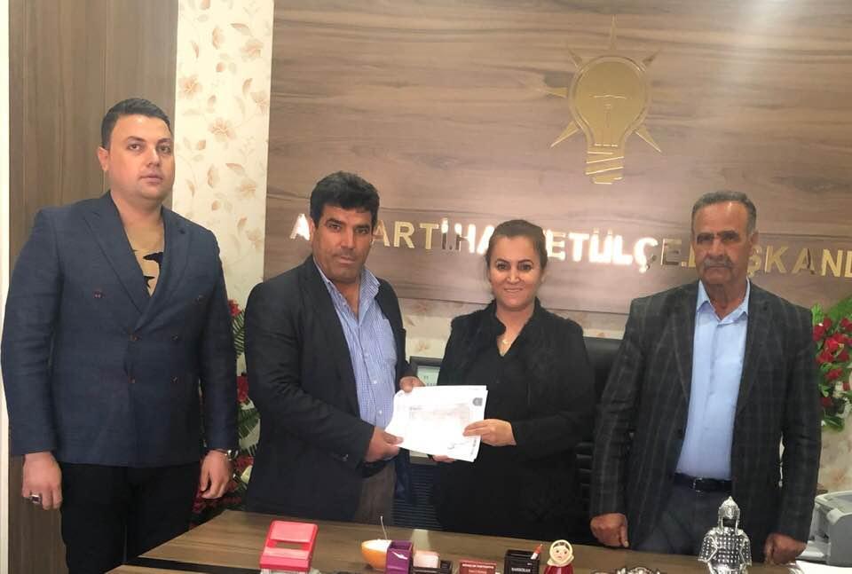 Halfeti de İlk Ak Parti Belediye Başkanı Adaylık Başvuruşunu Kurt Yaptı