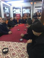 Başkan Pınarbaşı Esnafları Gezdi