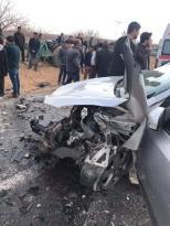 Birecik te İki Otomobil Çarpıştı:9 Yaralı