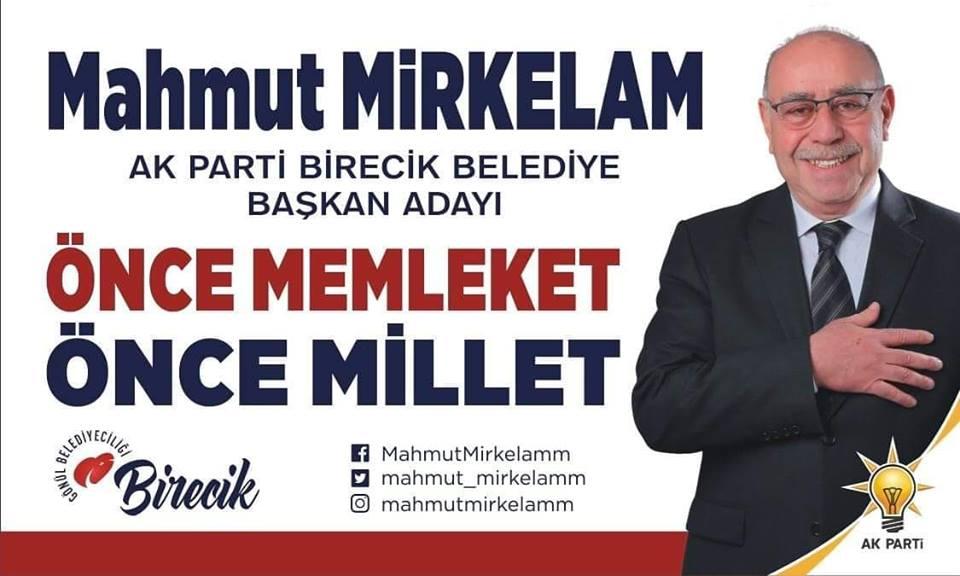 Ak Parti Belediye Başkan Adayı Mahmut Mirkelam dan Kandil Mesajı