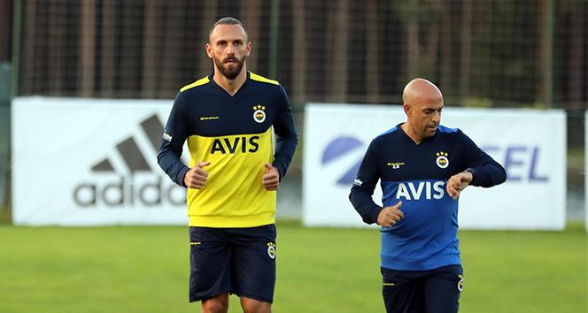 Vedat Muriç ilk antrenmanına çıktı