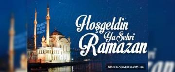 Ramazan Ayınız Mübarek Olsun