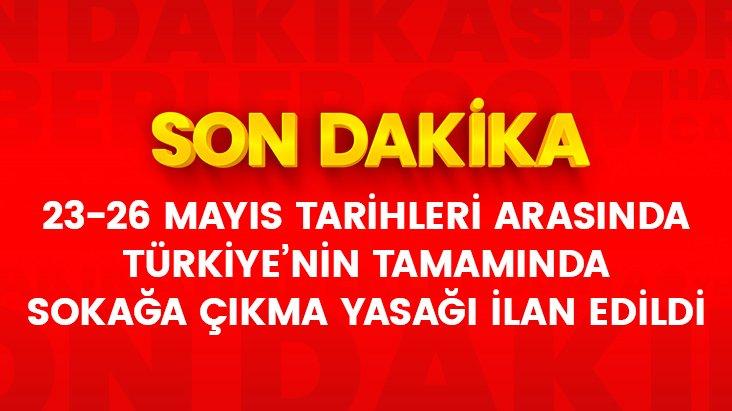 Cumhurbaşkanı Erdoğan açıkladı: Bayramda 81 ilde sokağa çıkma yasağı uygulanacak