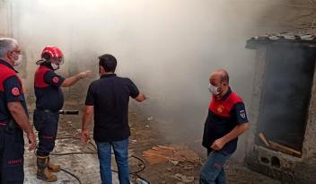 Son Dakika | Depoda çıkan yangın söndürüldü
