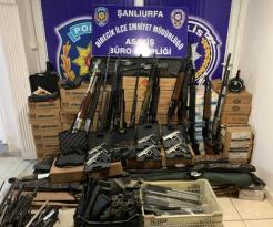 Birecik'te kaçak silah operasyonu: 1 gözaltı