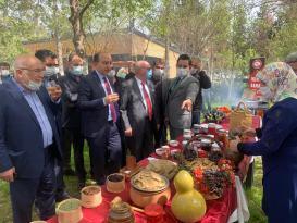 Hasan Durmaz Birecik'in yöresel yemekleri tanıtımı İçin Festival Yaptı
