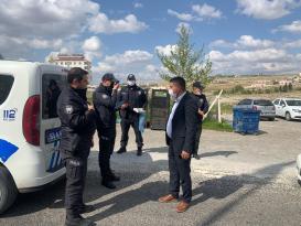 Hüseyin Kıran Polis Günün de Polislere lokum İkram Etti