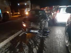 Birecik'te Zincirleme Kaza: 6 Yaralı