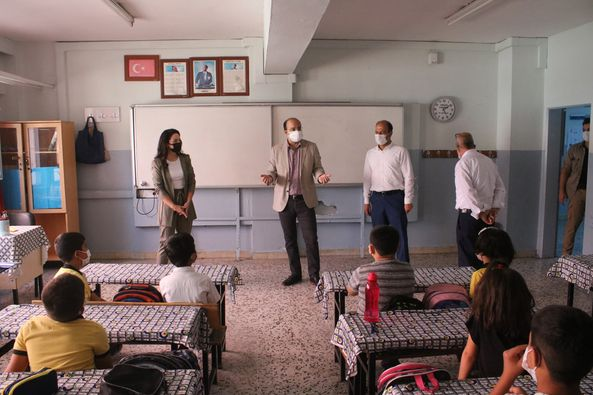 Kaymakam Kadir Duman Okulları Gezdi