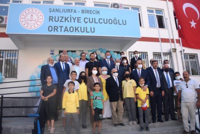 Birecik te Okulların Açılışı Yapıldı